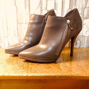 Limelight Shoes - Limelight Grey heel booties size 8.5US